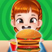 模拟汉堡店:餐厅...