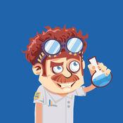 化学博士的元素结构拼图游戏