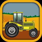 3D 农场拖拉机运...
