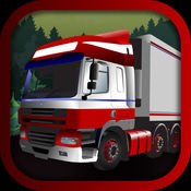 3D 的重型卡车运输