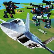 空战机器人机器人战斗 1