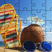 夏日拼图-趣味的益智小游戏 1