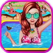 夏天女孩疯狂的泳池派对 1