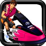 不法的 滑水 赛车  ( 3D 特技 竞赛 游戏 ) 1