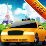 司机!疯狂的法国巴黎出租车机场旅游 - 免费 1