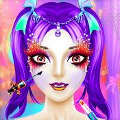 万圣节公主化妆2...