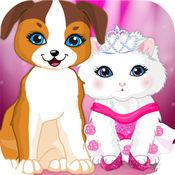 可爱宠物的设计师--萌宠换装游戏