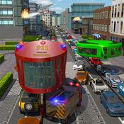 消防员陀螺巴士模拟器 1