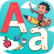 表学英语背单词识字&画画游戏 ABC