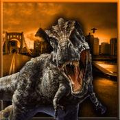 愤怒的恐龙袭击...