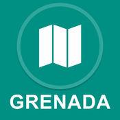 格林纳达 : 离线GPS导航 1