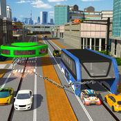 链式陀螺VS高架巴士