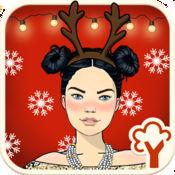 Christmas Walks – 女孩化妆及装扮游戏 2
