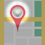 GPS操纵杆 - 假的位置