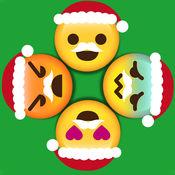 圣诞节绘文字 Emoji Circle Wheels  1