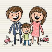图画书 为家庭的...