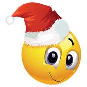 圣诞 表情符号...