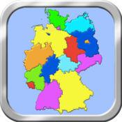 德国地图拼图