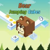 狂熊英雄跳跃的...
