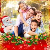 圣诞贺卡框架