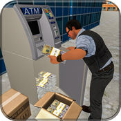 城市银行现金卡车司机 1