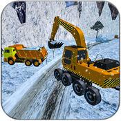 雪犁卡车司机游戏 1