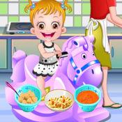 妈妈教可爱宝贝用餐礼仪 1