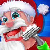 圣诞老人头发刮脸儿童游戏 1