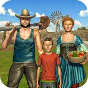 虚拟村庄农场模...