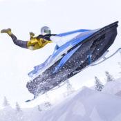 雪地车特技自行车车手 1
