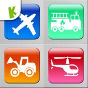 交通工具拼图游戏: 雪糕车和巴士等 1