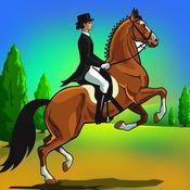 赛马骑敏捷:障碍马术跳跃赛 - 免费版
