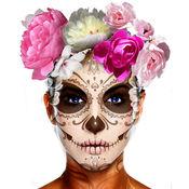 墨西哥骷髅化妆假面具