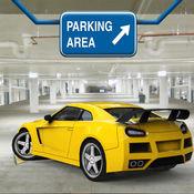 多级跑车停车场Sim 3D游戏Pro Run