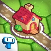 Little Bridges - 创建路径连接村庄的益智游戏