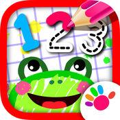 123 画画! 宝宝学习数字儿童教育 早教绘画游戏