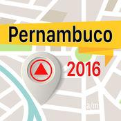 Pernambuco 离线地图导航和指南 1