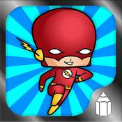 如何绘制 超级英雄赤壁 版 1