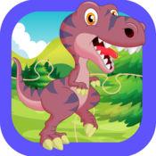 自由 难题 游戏 恐 龙园 恐龙 拼图 儿童