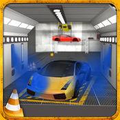 多级跑车停车模拟器2:车漆车库与真实驾驶游戏 1
