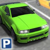 多层停车场停车的3D模拟器 - 多层次停车场挑战游戏 1
