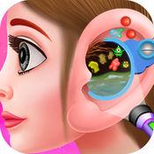 小女孩耳朵医生手术 - 模拟器游戏