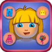 小女孩Explorer和FUNKY MONKEY - 自由的孩子穿衣戴帽游戏