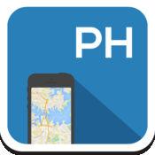 菲律宾马尼拉 离线地图,指南,天气,酒店。免费导航。GPS