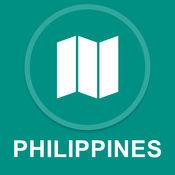 菲律宾 : 离线GPS导航