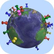 Pin Your World 收集参观的地方最好的工具