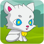 小小猫的冒险 - 贪婪白猫运行 1