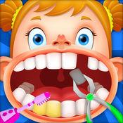 可爱小牙医 - 经典儿童小医生模拟游戏, 聪明牙医, 疯狂牙