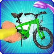 小机械师:孩子周期清洗和自行车修理 1