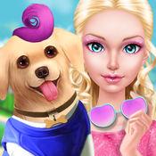 阳光小美女的一天 - 我是明星宠物美容师!